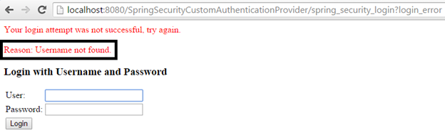 Spring Security using Custom Authentication Provider | Javainsimpleway