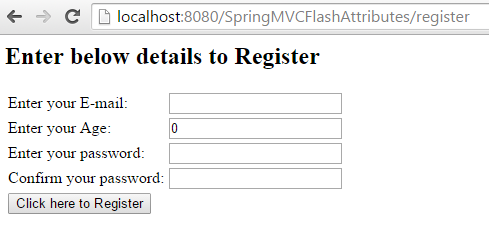 Spring MVC – Redirecting model attributes from one