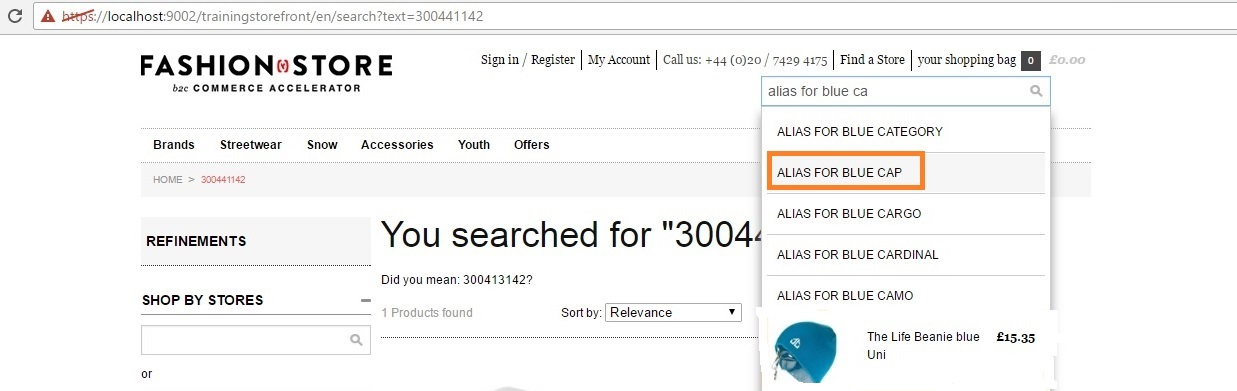 Product search auto suggestion in Solr