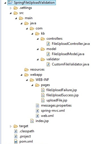 Spring MVC file upload with Validation | Javainsimpleway
