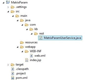 Matrix_param_proj_structure