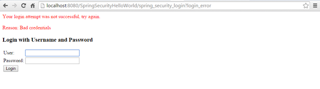 SpringSecurity_Invalid_Credentials