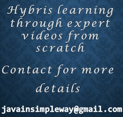 Hybris Training